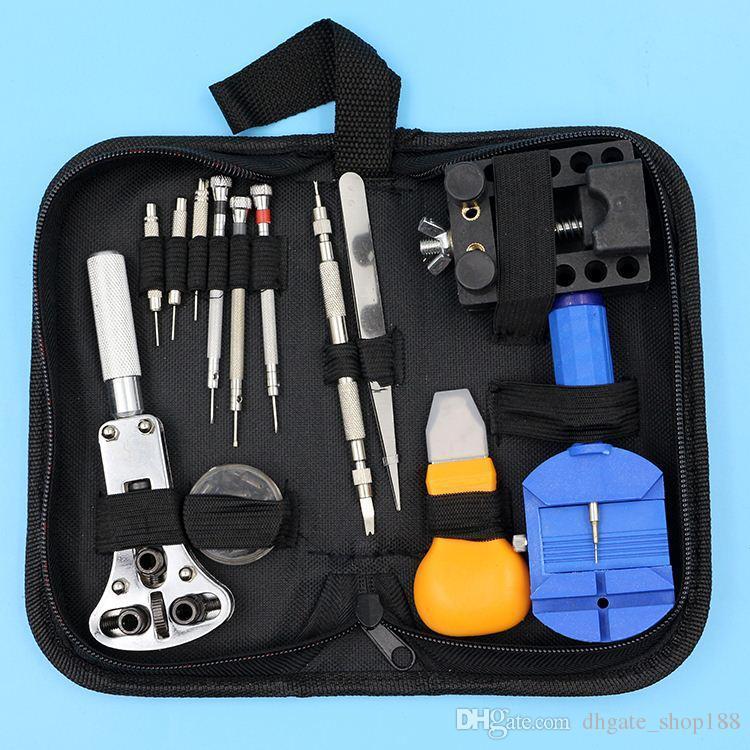 Beste Förderung 13 stücke Uhr Repair Tool Kit Set Öffner Link Frühling Bar Remover Pinzette Hohe Qualität