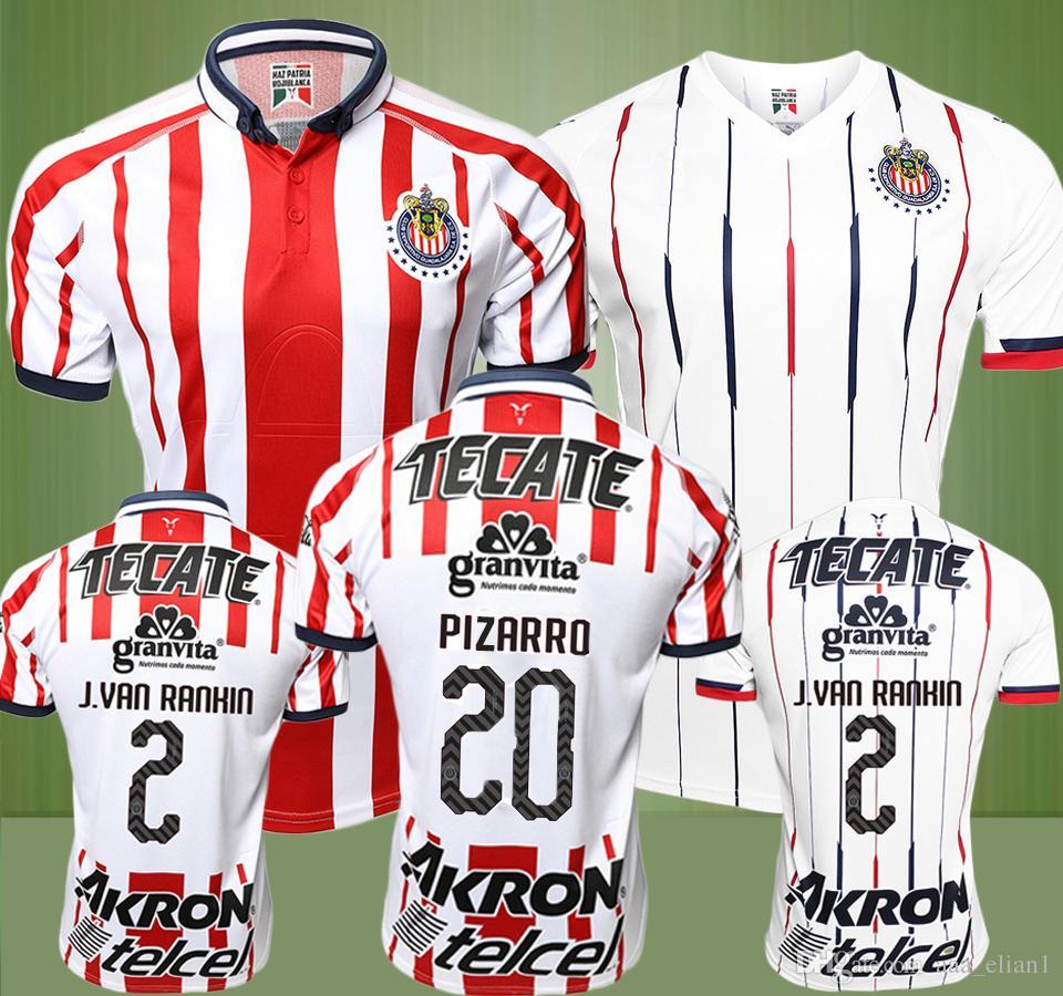 Compre 18 19 México Liga Mx Chivas Guadalajara Camisa De Futebol Sem Camisa  2018 2019 A.SEPULVEDA O.PINEDA A.PULIDO I.BRIZUELA PIZARRO Camisa De  Futebol De ... eeefd9d81ccf3