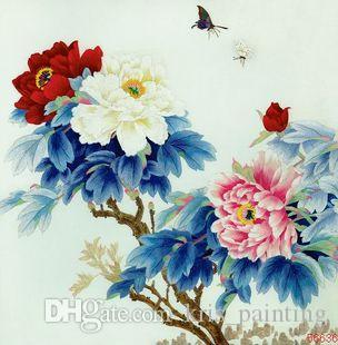 Pittura diamante fai da te kit punto croce strass mosaico decorazione della casa fiore peonia pittura diamante pieno ricamo quadrato zxh1189
