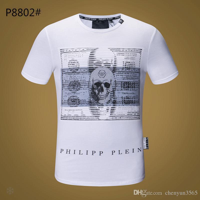 318b7fc82de3 Großhandel 2018 Neue 100% Baumwolle Pp Männer Kurze T Shirt Männer Marke  Kleidung Einfach Gedruckt