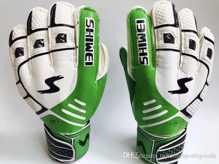 New Goalkeeper gloves and gloves for children's goalkeeper gloves and children's extra thick latex anti-skid football training