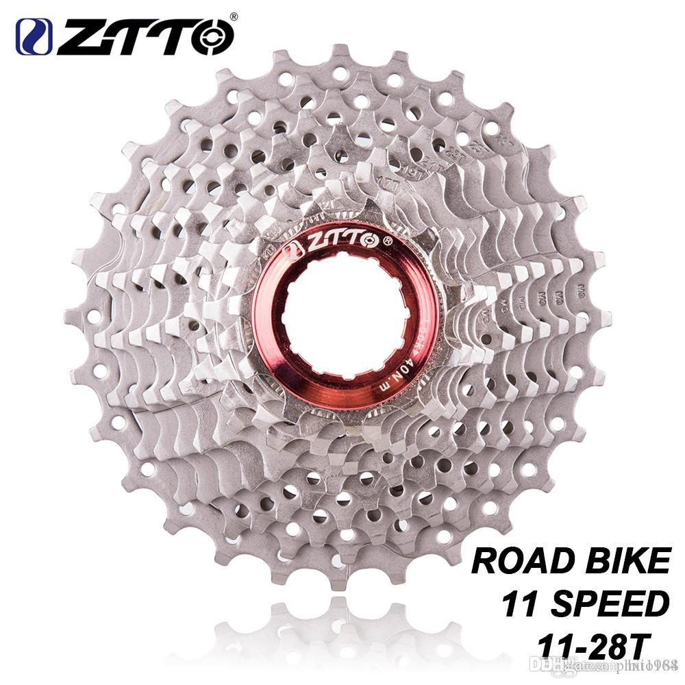 ZTTO Road Bike Bicycle Parts 11Speed 11-28T Freewheel Cassette Sprocket  Compatible for Parts 105 5800 UT 6800 DA 9100