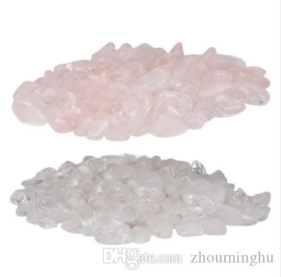 8-15mm 100g White/Pink Natural Crystal Moonstone Gemstone Stone Minerals Polished Specimen Lucky Crystal Love Gift Home Decor
