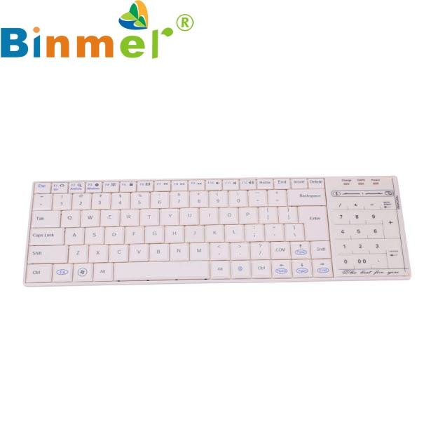 Wireless Bluetooth 3 0 Ultra Slim Mini Keyboard Numeric Keypad Touch Pad  Mouse For iOS Windows Tablet PC Phone 17OCT9