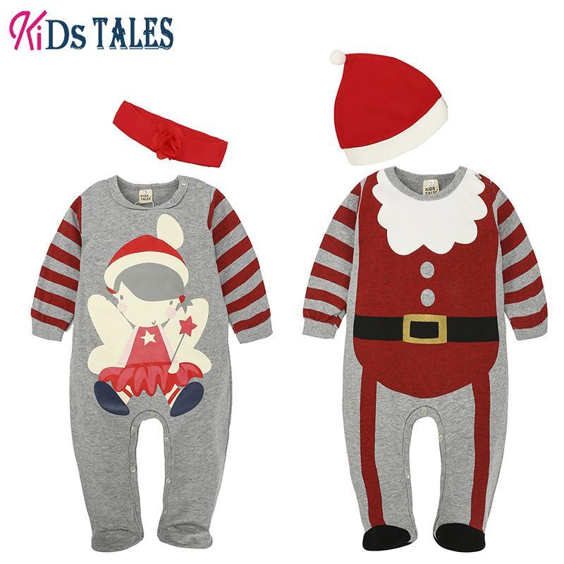 3df812a09 2019 Babys  Jumpsuit Kids Tales Cotton Infant Rompers Long Sleeve ...