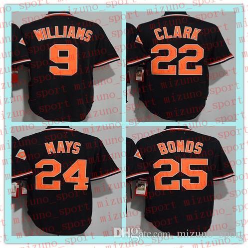 c3ff7a31 2019 MEN SF Hotsale 24 Willie Mays 25 Barry Bonds 9 Matt Williams 22 Will Clark  Baseball Jersey From Mizuno_sport, $19.13   DHgate.Com