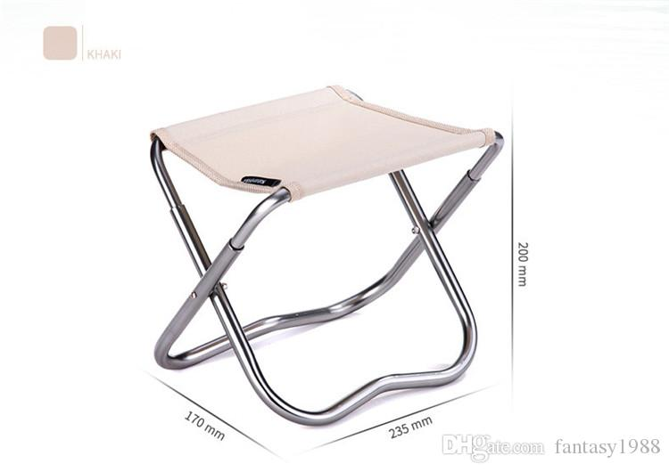 Mini Folding Beach Chair Easy Carry Outdoor Fishing Stool Hiking & Camping Gargden Portable Train Chair with a Bag Fast Shipping