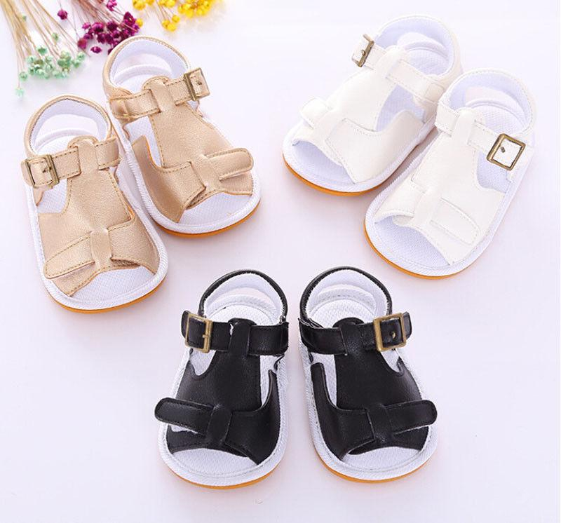 57be254630f6 Newborn Infant Baby Girls Boys Summer Casual Sandal Shoes Solid Cotton Flat  With Heel Active Shoes Outfit 0 18M 3 Style Cute Shoes For Kids Cheap Kids  Shoes ...