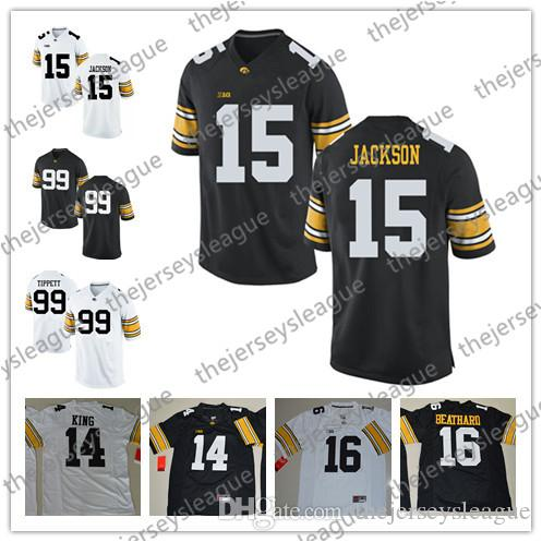 ae92f0c4e Iowa Hawkeyes NCAA College Football  14 Connor Keane 15 Josh Jackson ...