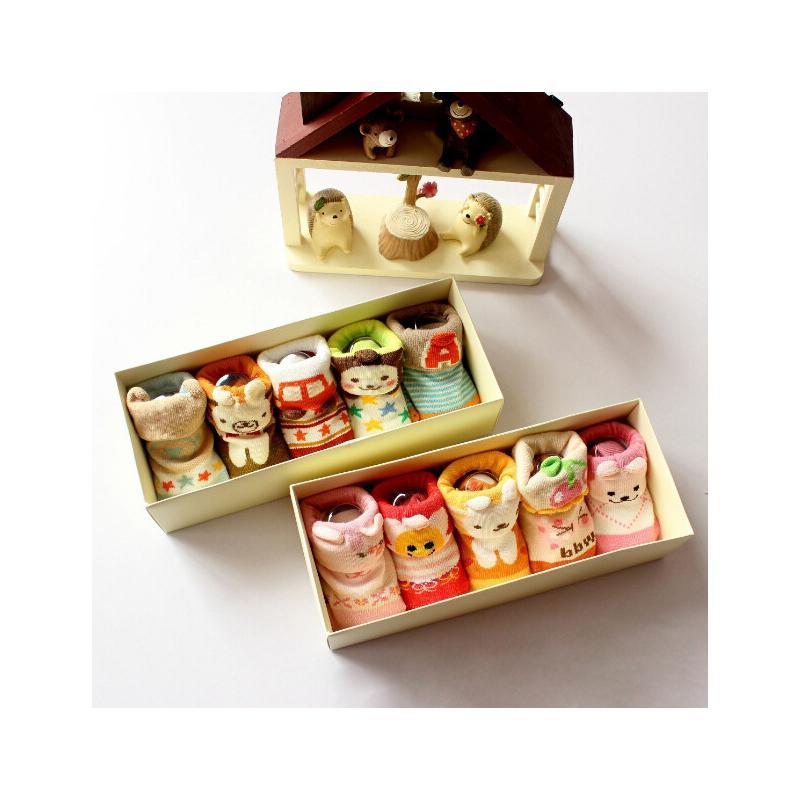 Großhandel Baby Socken Für Neugeborene Weihnachtsgeschenk Boxen Set ...
