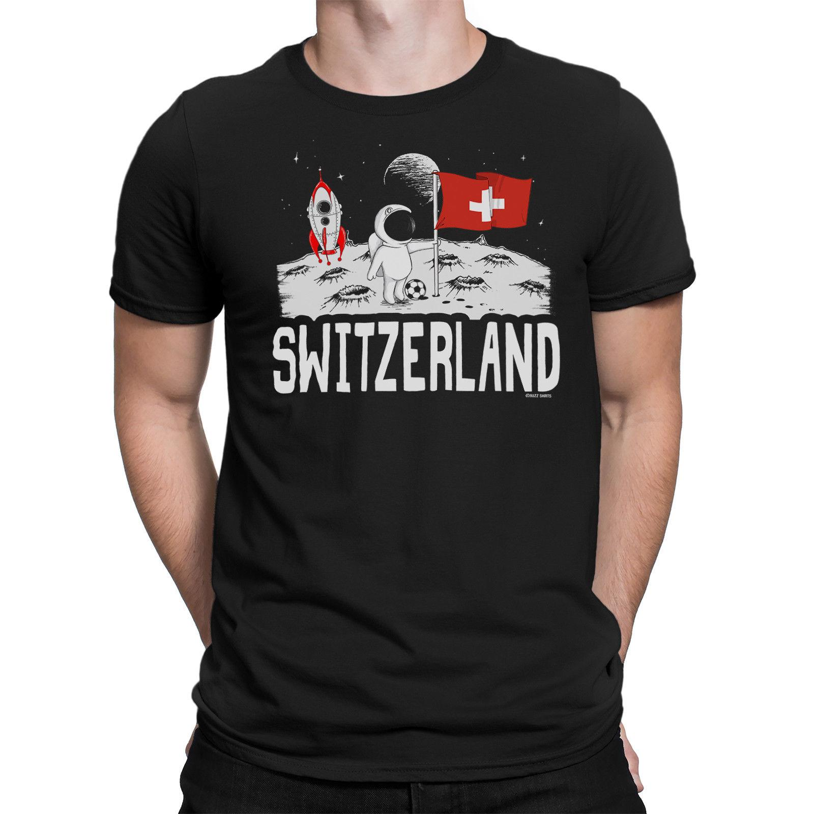 717acfe1 Mens SWITZERLAND T Shirt MOON Flag World Cup 2018 Football Funny Patriotic  Gift Mens Funny T Shirts Buy Shirts From Dhgategiff, $11.01| DHgate.Com