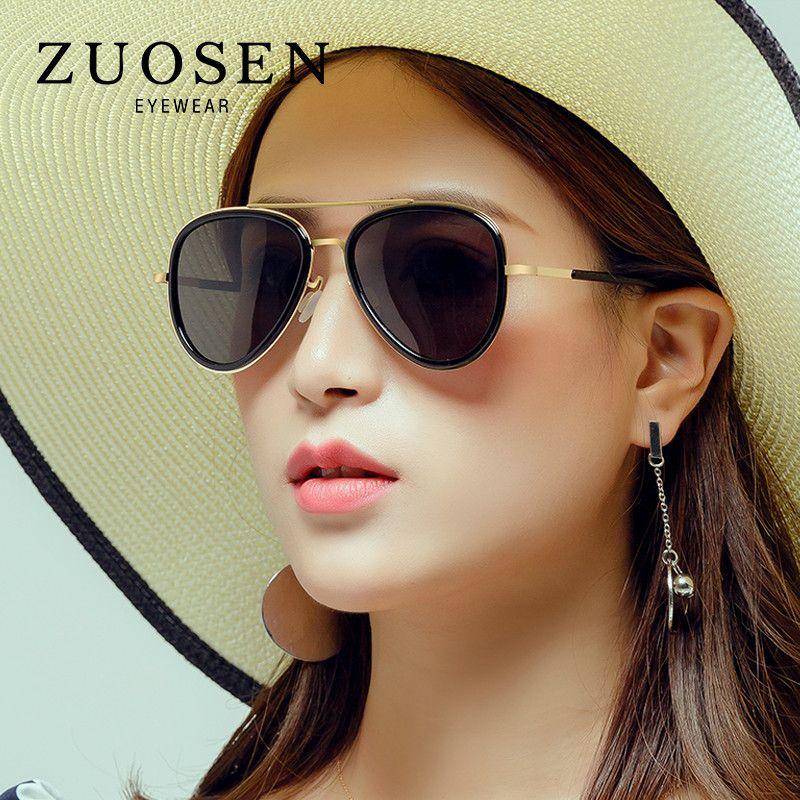 c536a04cd3 ZUOSEN 2018 Best Selling Fashion Sunglasses For Man Women Polrizing ...