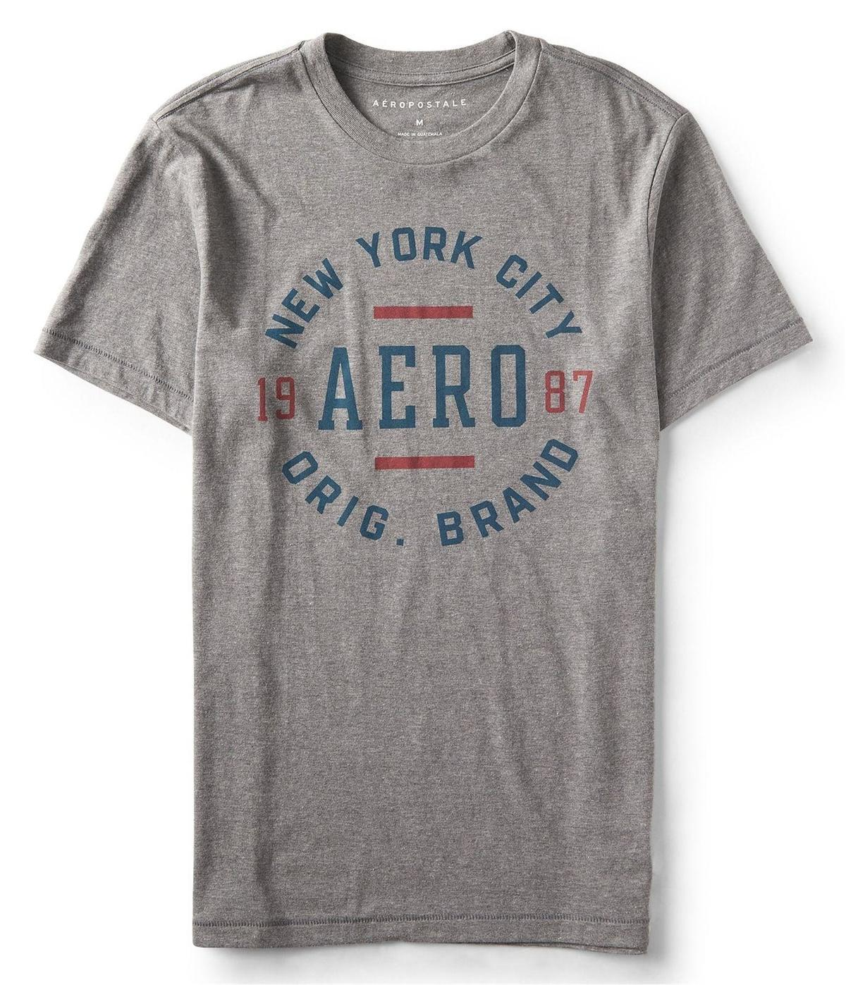 ad55ef53c4 Aeropostale Mens New York City Brand Graphic T-Shirt 053 XS