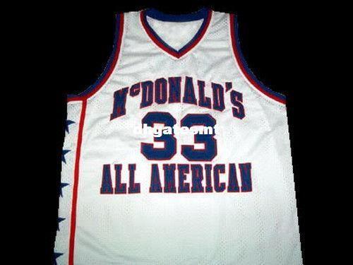 buy online 8c0f0 4b5e3 Cheap Mens KOBE BRYANT MCDONALD ALL AMERICAN JERSEY MCDONALD S WHITE NEW  ANY SIZE XS - 5XL Retro Basketball Jerseys