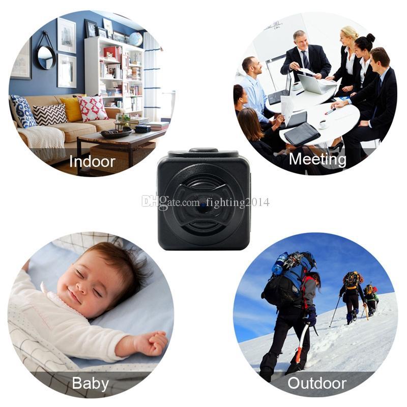 S5 Full HD 960P Micro Camera Portatile Rilevamento movimento DV DVR Digital Voice Video Recorder Camcorder Telecamere Sport con slot schede TF