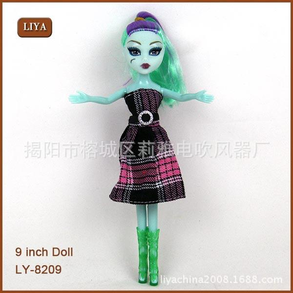 Hot New Retail Monster High Fashion Dolls monster Action Figure doll toy fad girl toys kids