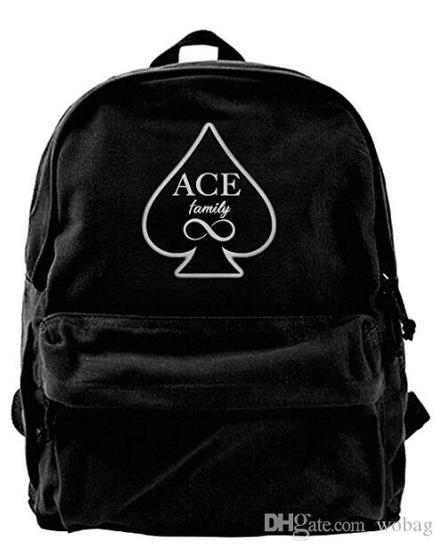 7e18b9f5b6 The Ace Family Stylish Bag Work Bag For Men   Women Teens College ...