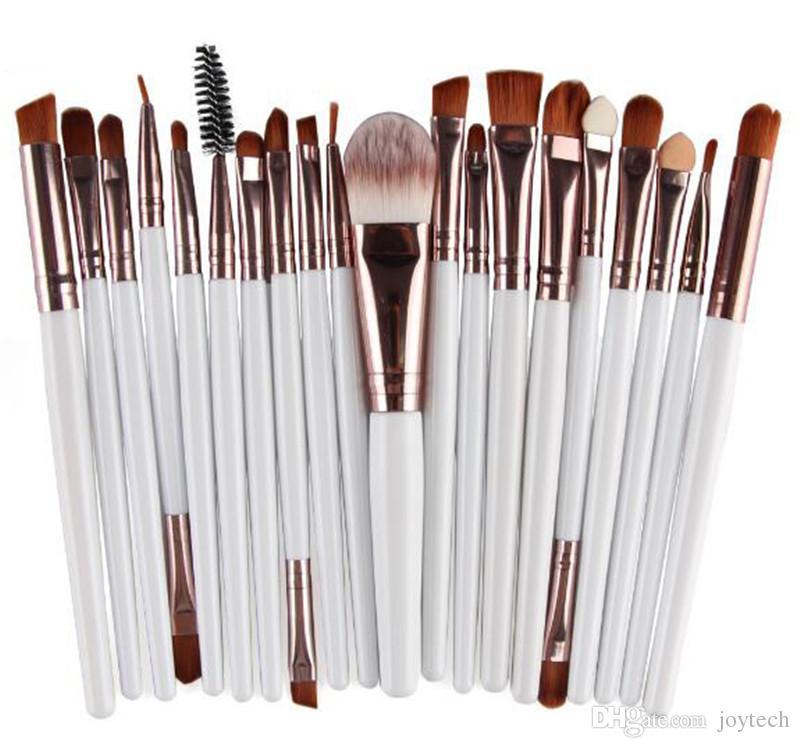 Professionnel ensembles de maquillage pinceau beauté cosmétiques maquillage brosses pinceaux yeux yeux broyées brosse pour les ombres à paupières