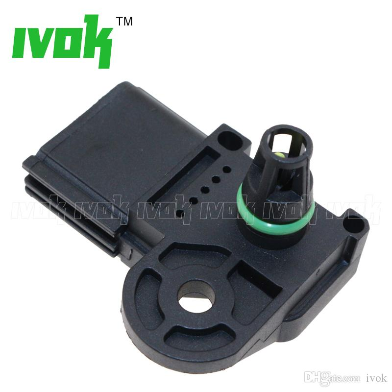 Brand New 1 Bar Manifold Pressure MAP Sensor For Ford Maverick Transit MK7 Ranger Escape Fusion 2.3L 2.5L 4S4G9F479AC 4S4G9F479AB 1319285