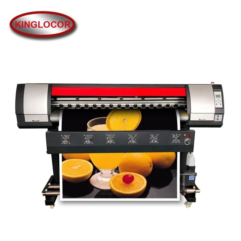 5892c3231 Large Format Sticker Vinyl Poster Canvas Photo Inkjet Printer Eco solvent  1440Dpi 1.6M One XP600 Outdoor Printing machine