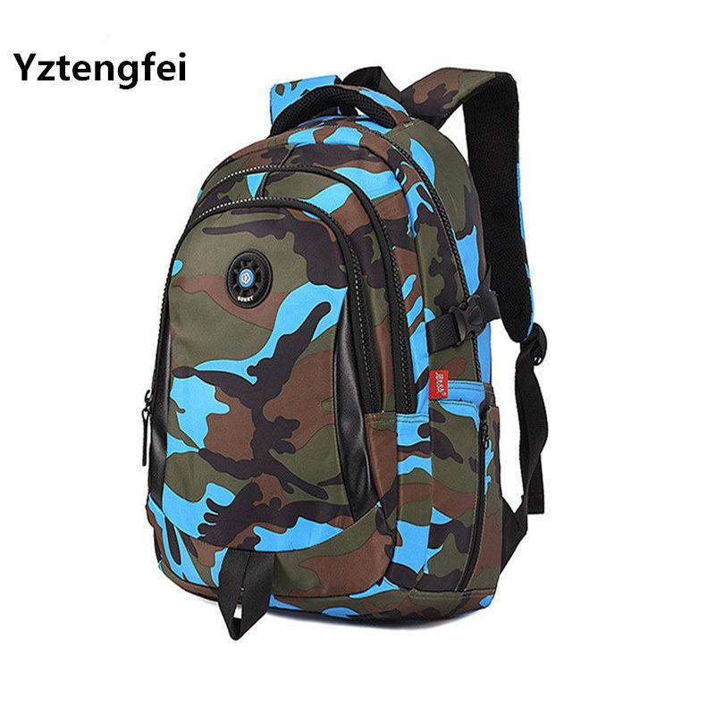4600eb0900cd YZtengfei Small Size Fashion Camouflage Kid Backpack Bag School Bags Travel Backpack  Bags For Cool Boy And Girl Gym Bags For Men School Bags For Girls From ...