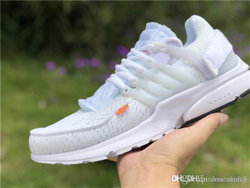 reputable site a4a00 f0d7e Scarpe Sneakers 2018 Arrival White Presto 2.0 X New Sports Running Scarpe  Da Ginnastica Bianche Qualità Autentica Con Scatola Originale Aa3830 100  Zip Tie ...