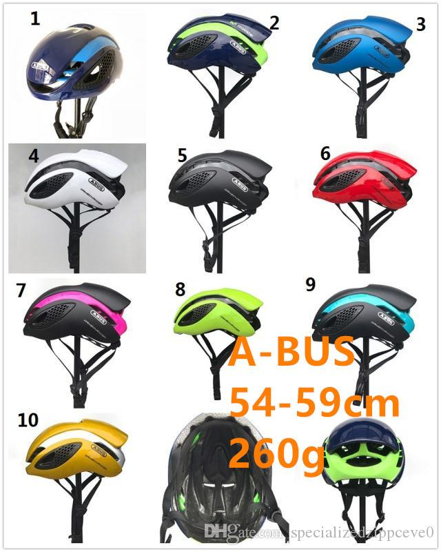 2019 Total 10 colores disponibles para la selección ABUSOS movistar GAMECHANGER para mtb ciclismo de carretera bicicleta Casco ultraligero seguro Diseño OEM