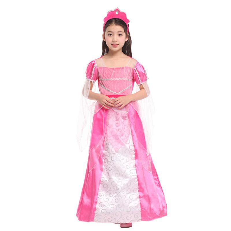 Acheter Nouveau Filles Halloween Princesse Peach Costume Enfants Fée