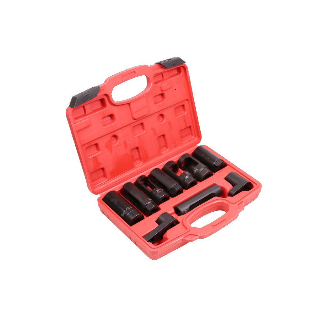 LONGFENG LFCP7 Automotive Oxygen Sensor Socket Set 10PC Socket Tool