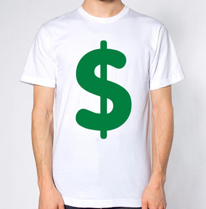 Dollar Sign Money T Shirt One Tee A Day Random Graphic Tees From Yuxin Dhgate Com