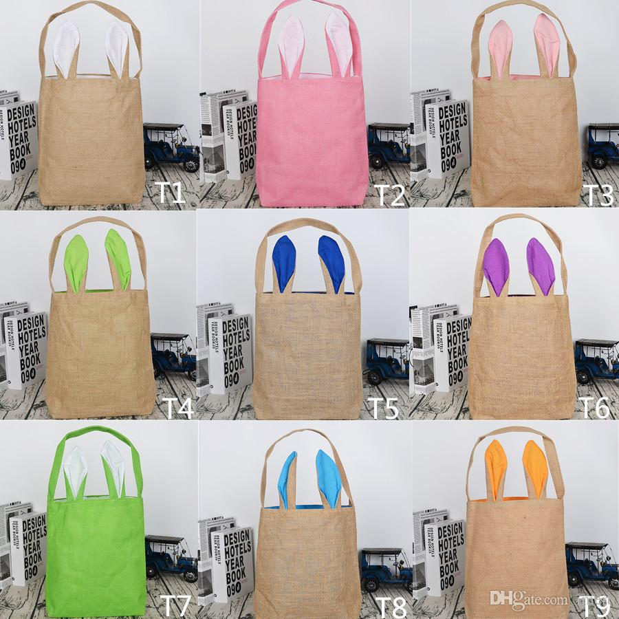 2017 easter gift bags large candy heavy jute bag rabbit easter 2017 easter gift bags large candy heavy jute bag rabbit easter bunny bag with ear easter bags for kids online with 339piece on imerts store dhgate negle Images
