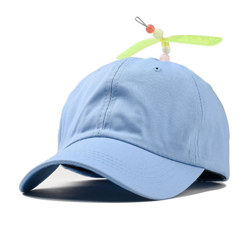 014a9ea356d33 Boys Girls Summer Flying Bamboo Pole Baseball Cap Unisex Helicopter Propeller  Caps Kids Lovely Colorful Patchwork Hat CP0015 Richardson Caps Customized  Hats ...
