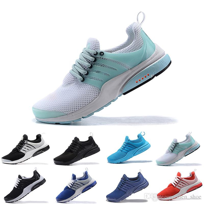 46cb5061bf2990 2018 Hot Presto 5 Ultra BR QS Black White All Yellow Purple Red Grey Running  Shoes For Women Men Top Prestos V Casual Sports Sneakers 36 45 Hoka Running  ...