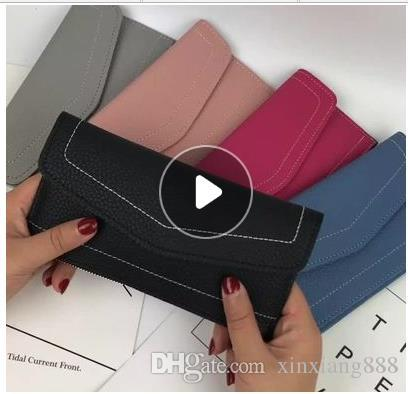 85150a6eb67 2018 In The Fall New Style Fashion The Wallet Women Easy To Match Ultrathin Wallet  My Wallet Womens Wallets From Xinxiang888, $7.92| DHgate.Com