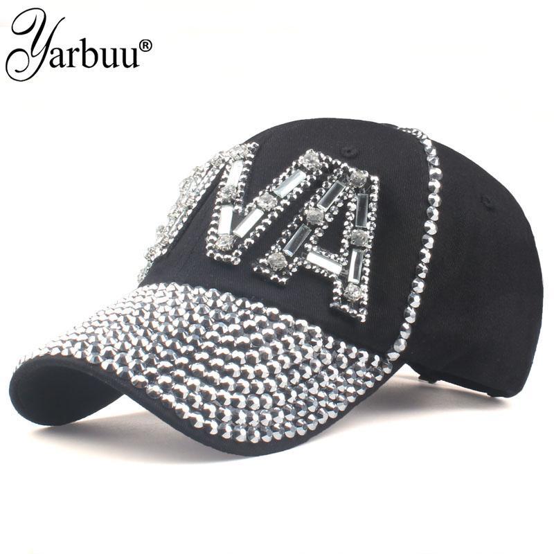 YARBUU Baseball Caps with Letter DIVA Women Adjustable Sun Hat ... be1ce223f8dd