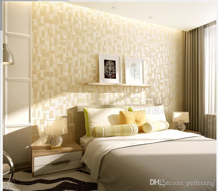 White Black 3d Wallpaper High Quality Mosaic Modern Living Room Sofa TV Backdrop Wallpaper Bedroom Non-woven Wallpaper Roll