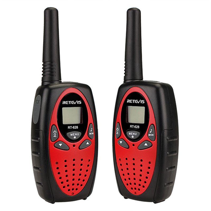 Retevis RT628 워키 토키 어린이 라디오 PMR FRS 0.5W PMR446 8 / 22CH 복스 PTT LCD 디스플레이 어린이 2 웨이 라디오 송수신기
