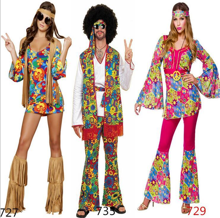 2019 New 2017 Ladies 80s Retro Hippie Go Go Girl Disco Costume Fancy Dress  Hen Xmas Party Size Sexy From Michalle 444d75d1254f