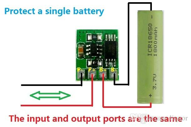 18650 Lithium Battery Charger Board with Over Charge