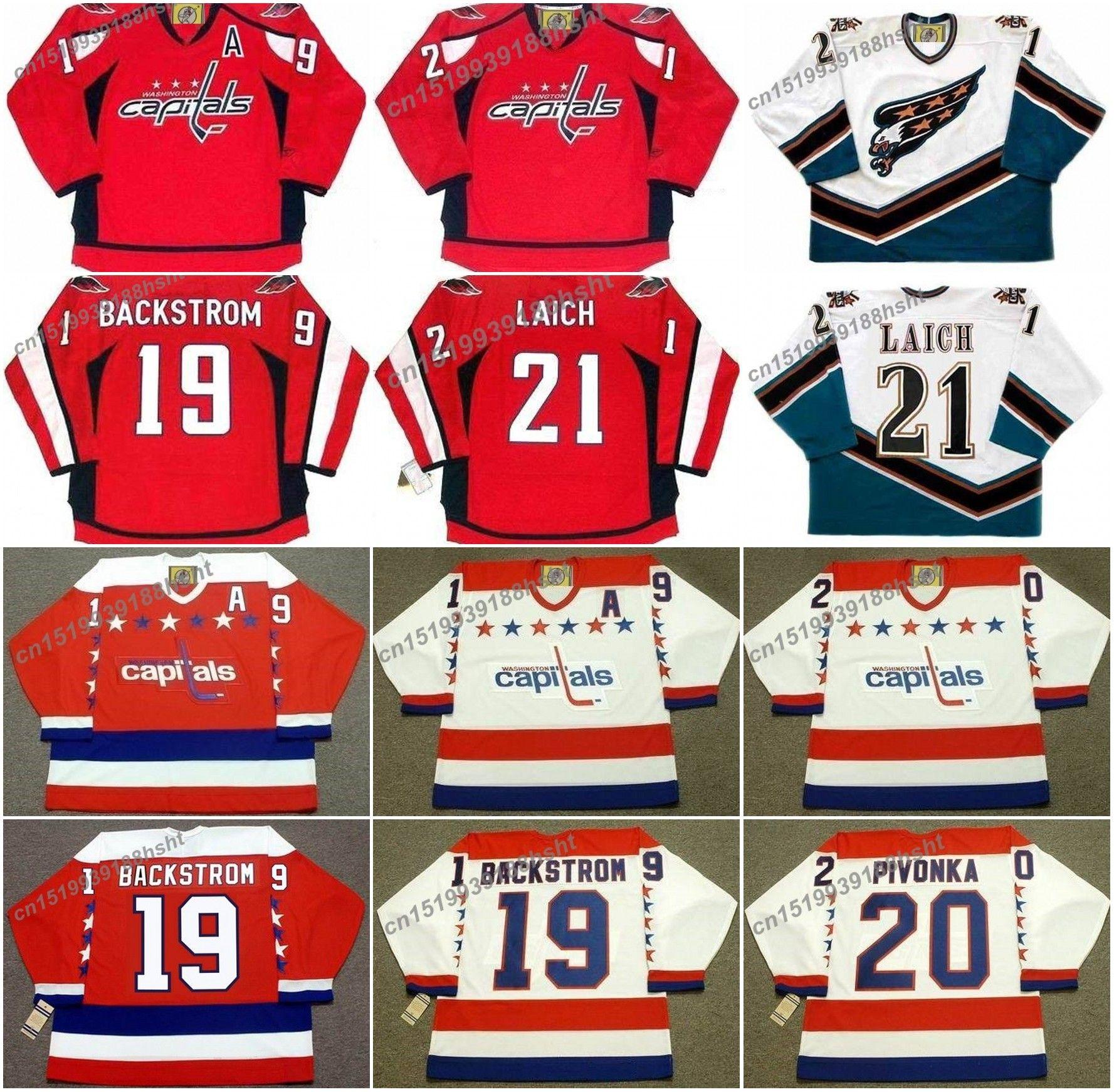 12b9b6c187d ... clearance 2018 19 nicklas backstrom 20 michal pivonka 21 brooks laich  washington capitals 2010 jersey from