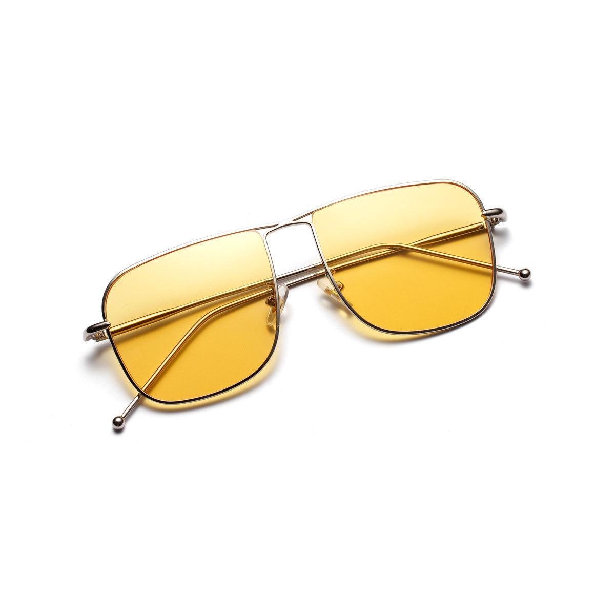 Sol Amarillo Color Negro Cuadradas Y Compre Gafas De JcTlFK1