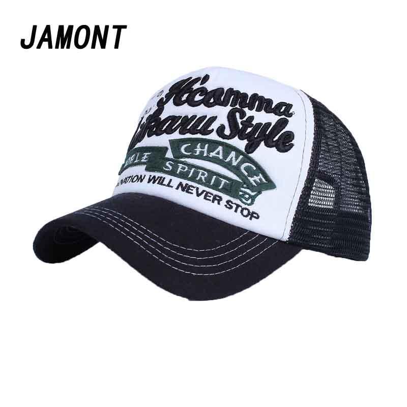 9a867aa45bb Summer Embroidery Baseball Cap For Women Outdoor Sunscreen Mesh Caps Casual  Sport Snapback Hat Men Hip Pop Gorras Hats Richardson Caps Customized Hats  From ...