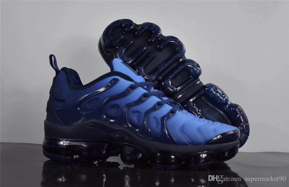 1fedb18dee7 2018 New Vapormax TN Plus Olive In Metallic White Silver Colorways Shoes  Men Shoes For Running Male Shoe Pack Triple White Mens Shoes Prom Shoes  Sperry ...