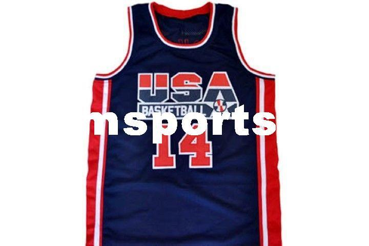 74a1de425223 ... where can i buy 2018 wholesale charles barkley 14 team usa new basketball  jersey navy blue