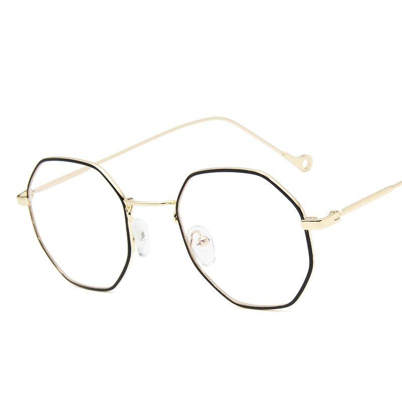 635a15821469 2018 New Brand Women Computer Eyeglasses Frame Optical Frames Metal ...