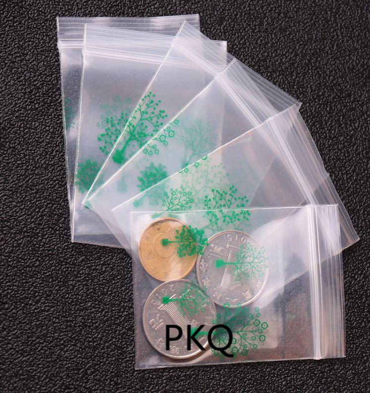 ee46827ff18 2019 4x5cm Cheaper Small Plastic Zipper Bag Ziplock Packaging Pouches Mini  Zip Lock Bags Cute Printing Tree Self Seal From Nicewatchnice