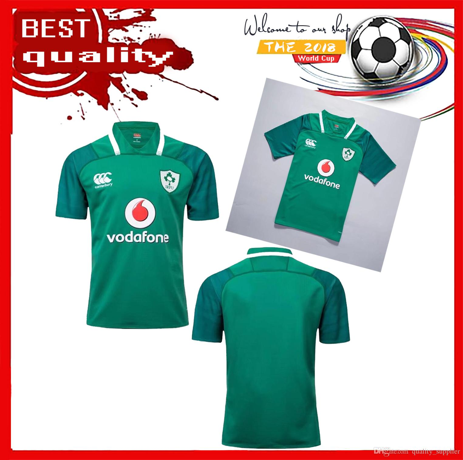huge selection of 65638 c6f36 2017 Leinster rugby jerseys 16 17 Ireland league Leinster away Irish rugby  shirts top quality jerseys Size S-3XL