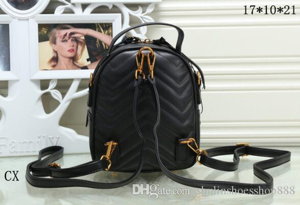 7602fbaaee Marmont Backpack Women Famous Brands Backpacks Leisure School Bag Fashion  Leather Quilted Mochila Luxury Designer Women Bags Italy Bag Travel  Backpacks ...