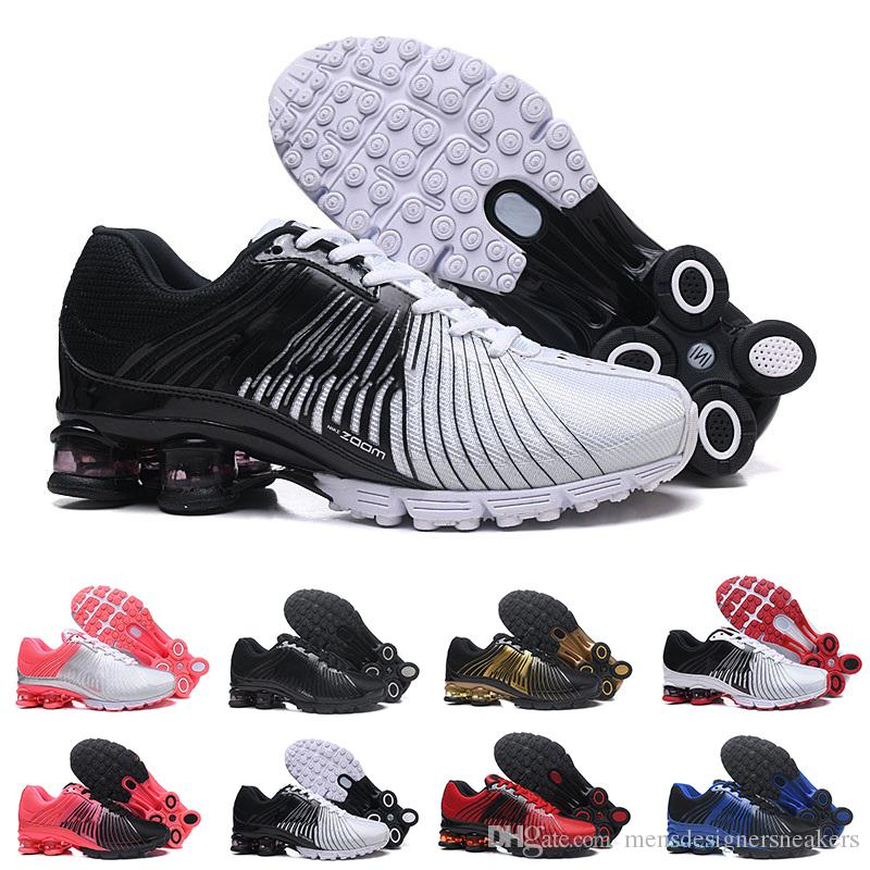 a7b3dd8dad6 On Sale Shox Deliver 625 Men Running Shoes Black White Famous ...