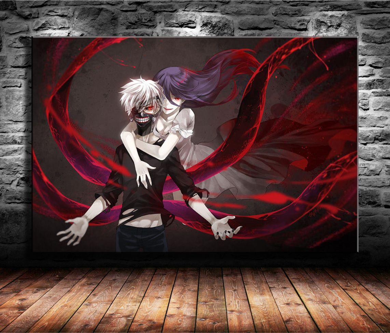2019 Tokyo Ghoul Japanese Anime,Home Decor HD Printed